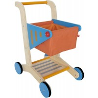 Toy Wooden Shopping Cart