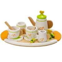 Tea Set for Two 12pc Wooden Playset