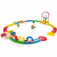 Sights & Sounds Railway Toddler Train Set