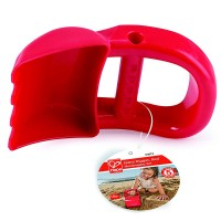 Hand Digger Red Sand Toy