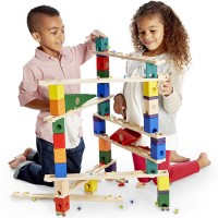 Autobahn Quadrilla 175 pc Wooden Marble Run