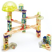 Space City Quadrilla 176 pc Wooden Marble Run