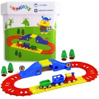 First Train Playset for Toddlers