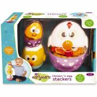 Chicken & Egg Stacker Baby Activity Toy