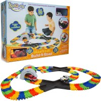 Build a Road Double X-Track 200 pc Construction Set