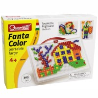 Quercetti Fantacolor Portable Square Peg Set