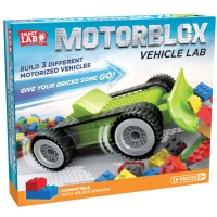 Motorblox Vehicle Lab Build 3 Motorized Cars Kit