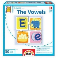 I Learn the Vowels Matching Puzzles Set