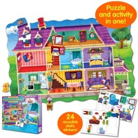 Create a Scene Dollhouse Puzzle