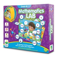Mathematics Lab Grab It! Interactive Learning Game