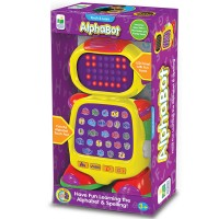 AlphaBot Early Reading Learning Toy Robot