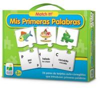 Mis Primeras Palabras Match It Alfabeto - Spanish Alphabet Puzzle Set