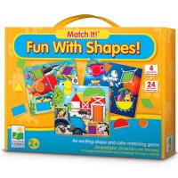 Fun with Shapes Match It! - Shapes Learning Toddler Puzzle