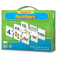 Numbers Match It! Learning Puzzle