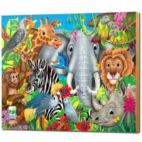 Animals of the World - 48 pcs Jigsaw Puzzle
