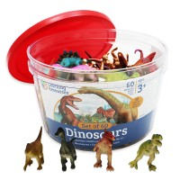 Dinosaur Counters 60 pc Counting Set