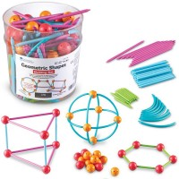 Geometric Shapes 3D Building Set