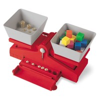 Precision School Balance with Weights Math Set