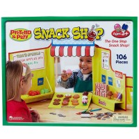 Pretend & Play Snack Shop Play Store Playset