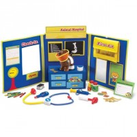 Pretend & Play Animal Hospital 34 pc Play Set
