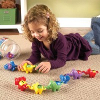 Snap n Learn Counting Elephants Learning Toy