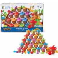 Alphabet Acorns Sorting Activity Set