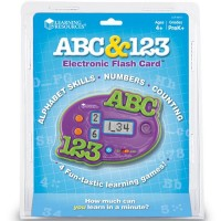 ABC & 123 Electronic Flash Card Game