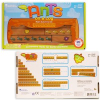 Ants on a Log Learning Rods Math Activity Toy
