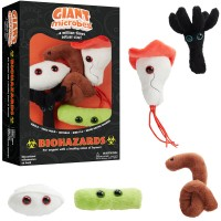 Biohazards 5 pc Plush Giant Microbes Gift Box