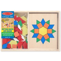 Pattern Blocks and Boards Learning Wooden Toy