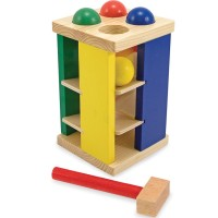 Pound and Roll Tower Motor Skills Toy