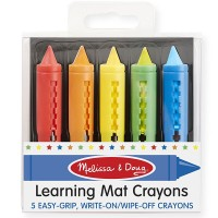 Learning Placemat Wipe-off Crayons