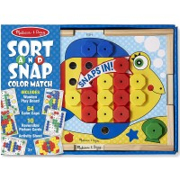 Sort & Snap Color Match Learning Toy