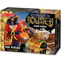 Pirate's Bounty 100 pc Giant Floor Puzzle