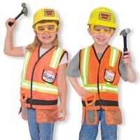 Construction Worker Costume Role Play Set