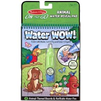 Animals Water WOW! On the Go Activity Book & Water Pen Set