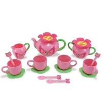 Bella Butterfly 17 pc Pink Tea Set