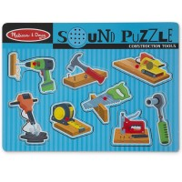 Construction Tools 8 pc Sound Puzzle