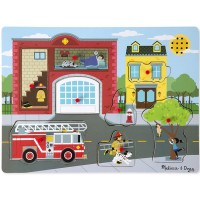 Around the Fire Station Sound Puzzle