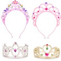 Dress Up Tiaras 4 pc Princess Play Set