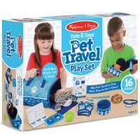 Pet Travel Tote & Tour 15 pc Play Set