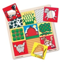 Farm Peek Through Pattern Wooden Puzzle