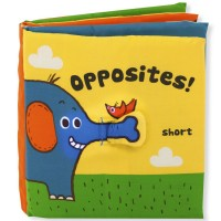 Baby Activity Soft Book - Opposites