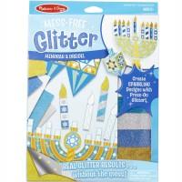 Glitter Menorah & Dreidel Hanukkah Craft