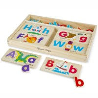 ABC Picture Boards Wooden Letter Puzzle Set