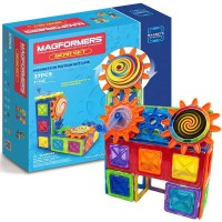 Magformers 37 pc Magnets in Motion Building Set