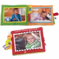 Look Who's Smiling Baby Photo Soft Book