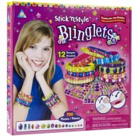 Sticky Mosaics Blinglets - Bracelets Craft Kit