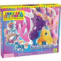 Unicorns Sticky Mosaics Craft Kit