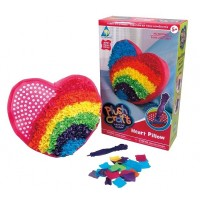 PlushCraft Heart Pillow Girls Craft Kit